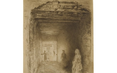 JAMES ABBOTT MCNEILL WHISTLER | THE BEGGARS (K. 194; G. 190)