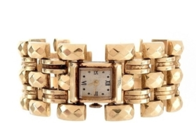 Retro 14K Bracelet Watch