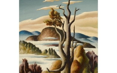 THOMAS HART BENTON | THE OLD TREE, BECKET, MASSACHUSETTS