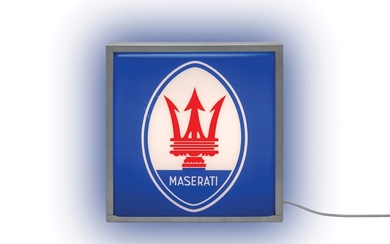Maserati Illuminated Sign