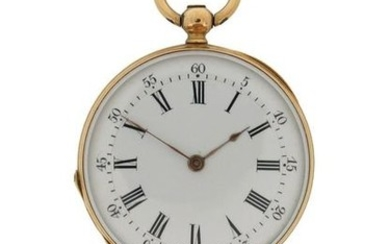 A lady's 18ct gold fob watch by Vacheron...