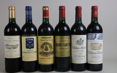 Mixed Lot Bordeaux 1995/1996/1998