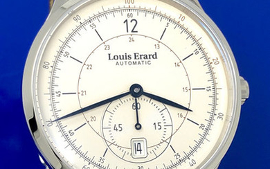 """Louis Erard - Automatic 1931 Small Seconds Silver Dial - """"NO RESERVE PRICE"""" - 33226AA11.BDC80 - Men - BRAND NEW"""