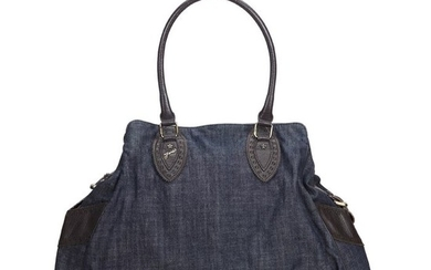 Fendi - Zucchino Denim Etniko Shoulder Bag Shoulder bag