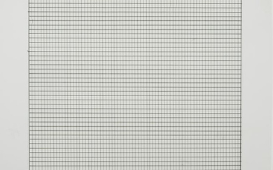 Agnes Martin (American/Canadian, 1912-2004), ,