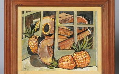 Oil on Canvas Early Copy of Still Life by Tamayo