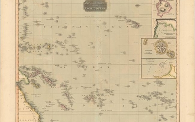 """Map of the Islands in the Pacific Ocean"", Thomson, John"