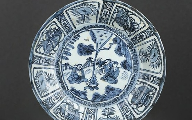 Chinese Blue And White Porcelain Plate