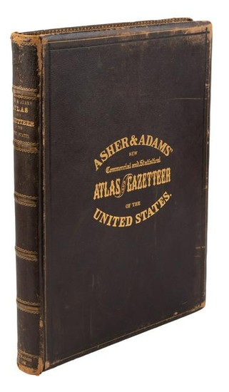 Asher & Adams' Atlas and Gazetteer of the US