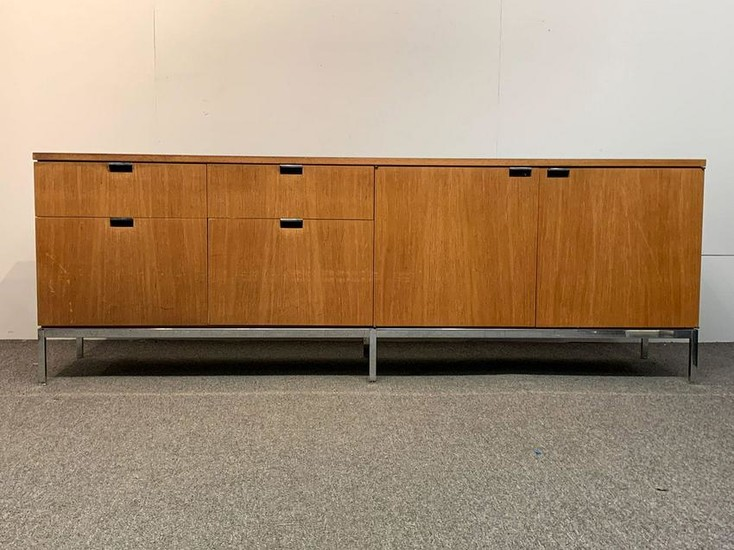 Florence Knoll Walnut Credenza
