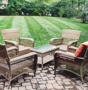 Lot-Art  Martha Stewart Living Patio Furniture Set