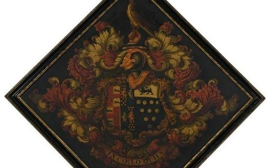 British 18th Century Hatchment