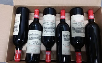 Mixed lot - 1993 & 1999 Chateau Cap Saint Martin - Bordeaux - 24 Bottles (0.75L)