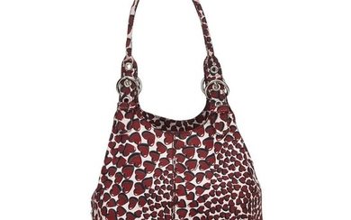 Prada - Cotton Heart Print Shoulder Bag Shoulder bag
