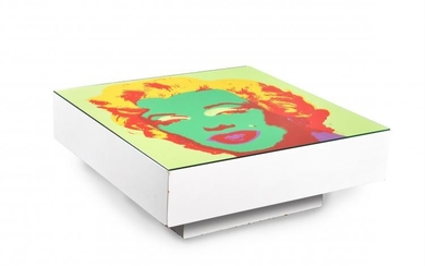 Andy Warhol (after), a square coffee table