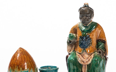 Figure of a Monkey King and Washer
