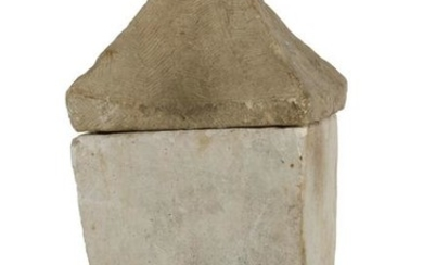 A Pacific Basin limestone covered urn, Mindanao