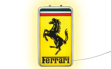 Ferrari Illuminated Sign