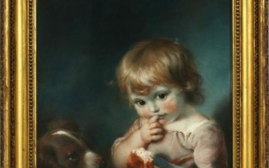 JOHN RUSSELL, R.A. PASTEL ON PAPER, 1787