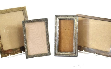 Two Silver Photograph-Frames, With English Import Marks for Birmingham, 1956...