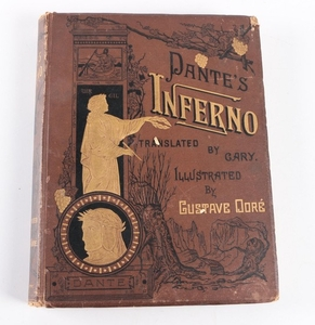 Lot Art 1880s Dante S Inferno Illustrated By Gustave Dore