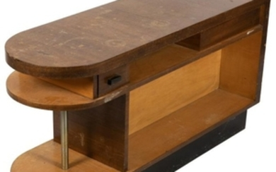 Deco Style Two Sided End Table