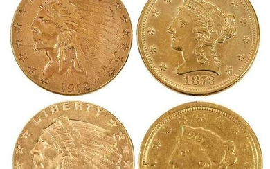 35 U.S. Gold Quarter Eagles