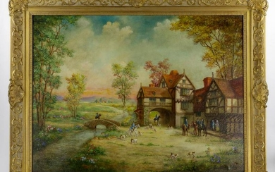 Mahoney, The Hunt, Oil on Canvas