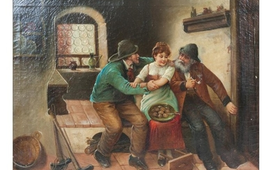 Artist Unknown (19th/20th century) Two Miners with a