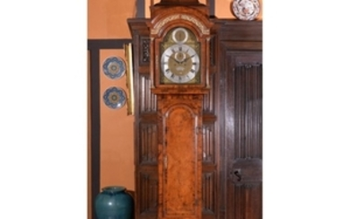 A George II walnut eight-day longcase clock, James Sedgwick, London, mid 18th century