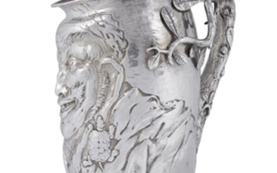 Sterling silver figural water pitcher Gorham Mfg. Co., Providence,...