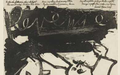 WILLEM DE KOONING (1904-1997), Revenge, from 21 Etchings and Poems