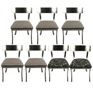 Groovy Lot Art Contemporary Klismos Style Dining Chairs By Design Unemploymentrelief Wooden Chair Designs For Living Room Unemploymentrelieforg