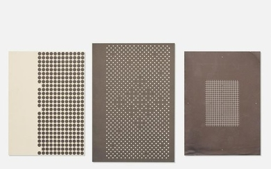 Josef and Anni Albers, Holiday Cards (three works)