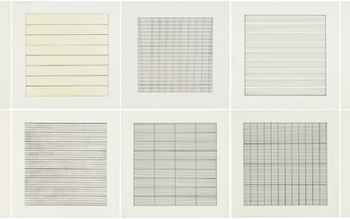 AGNES MARTIN (1912-2004), Paintings and Drawings 1974-1990