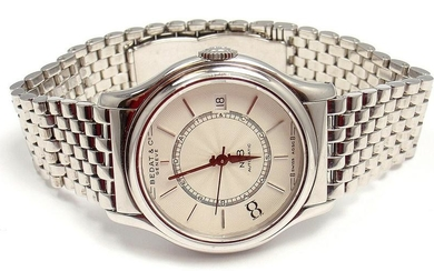 SHARP! BEDAT & COMPANY No.8 STAINLESS STEEL WHITE DIAL