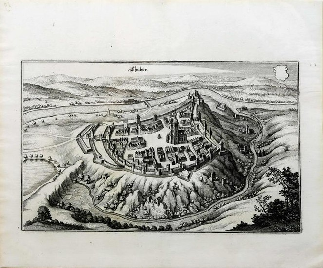 Merian View of German Townscapes