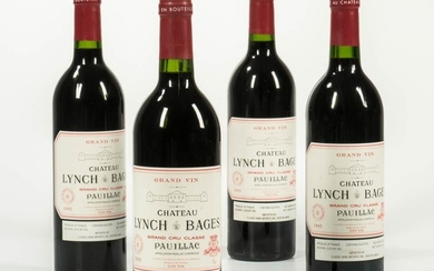 Chateau Lynch Bages 1995, 4 bottles