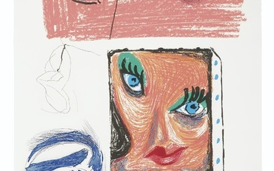 DAVID HOCKNEY (B. 1937), An Image of Celia Study, from Moving Focus