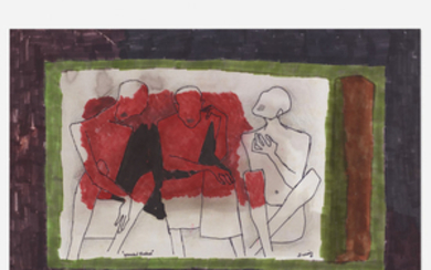 M.F. Husain, Wounded Shadows