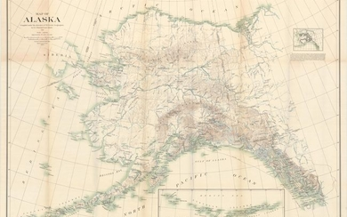 "NO RESERVE, ""Map of Alaska Compiled Under the Direction of R.U. Goode, Geographer..."", U.S. Geological Survey (USGS)"