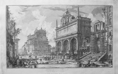 Piranesi, Giovanni: THE FONTANA DELL'ACQUA FELICE, Year 1751.