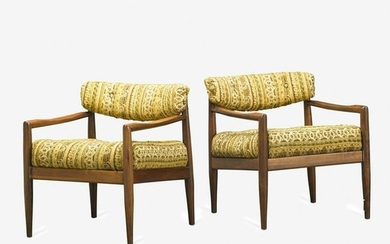 PAIR OF ADRIAN PEARSALL FOR CRAFT ASSOCIATES LOUNGE