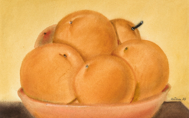 Fernando Botero (Colombia / 1932) Still Life with oranges (1975)