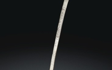 A SILVER SPOON, TANG-SONG DYNASTY, 9TH-10TH CENTURY