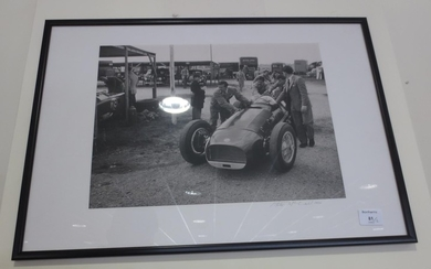 Assorted Motorsport photographs and prints,