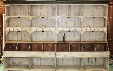 Custom made country store display counter