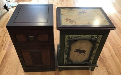 Two Night Stands - Including Log Cabin Style