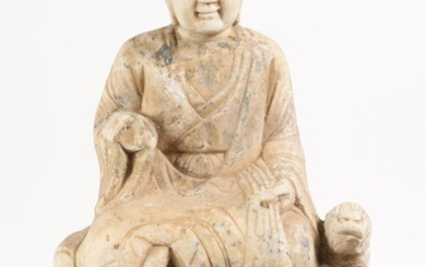 Chinese Carved Stone Figure A5WAW