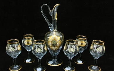 Murano Wine Glass Set